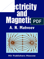 Matveev Electricity and Magnetism