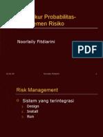 Materi2 Mengukur Probabilitas Manajemen Risiko