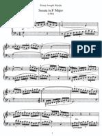 Haydn - Piano Sonata No 47 in F