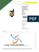 Articulo Mercadolibre Com Co MCO 406098527 Programador de Tiempo Automatico Para Flujo de Agua JM