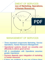 Management of Services