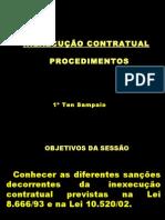 Inexecução Contratual - Sampaio