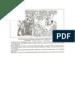 Caricature du journal Umurangi - Capitaine Simbikangwa (1992)