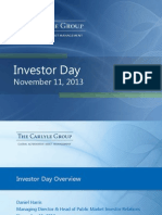 Carlyle Investor Presentation_Nov13
