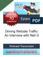 Driving Website Traffic