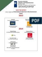 Environment Fairs 2013-2015
