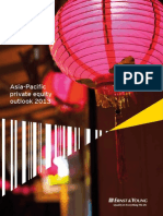 EY APAC Private Equity Outlook 2013