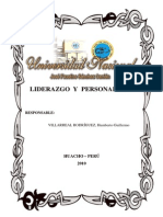 LIDERAZGO Y PERSONALIDAD