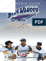 2013 Blue Wahoos Media Guide