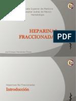 Heparinas Fraccionadas