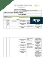 Formato Plan de Aula 2012