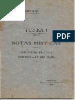 J PRACHAM OM Notas Misticas