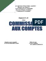 R3 Commissariat Aux Comptes en Algerie