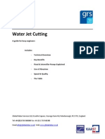 Free Water Jet Cutting Guide