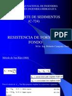 Capitulo IV - Resistencia de Formas de Fondo
