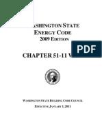 Washington State Energy Code 2009