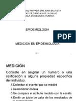 2da Clase Medicion en Epidemiologia 2011-2