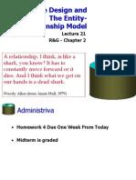 Database Entity Relations