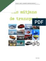 Els mitjans de transport (CI) Isabel Padrés
