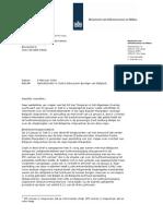 140204 brief staatssecretaris over vliegverkeer boven eijsden