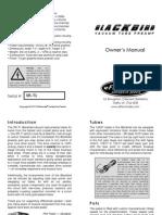 Sr 71 Blackbird Owners Manual