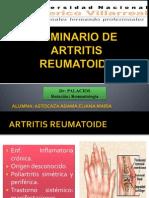 Seminario de Artritis Reumatoide Modificado