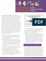 Public Private Partnerships — Promoting Gender Equity — The Gender and Growth Assessment for Uganda