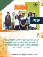 FUNDAMENTACIÓN PEDAGÓGICA DE LA FORMACION PROFESIONAL INTEGRAL