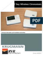 Krugmann KC7 Series Instructions 2009