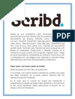 Scribd Es Una Plataforma Para Almacenar y Compartir Documentos en La Red
