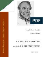 Rosny La Jeune Vampire