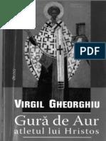 (Virgil Gheorghiu) Sfantul Ioan Gura de Aur, Atletul Lui Hristos