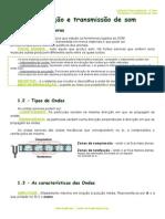 Ficha Informativa - Produção e Transmissão de Som