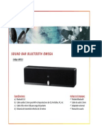 68p213 Sound Bar Bluetooth Omega