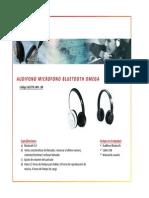 662770 Audifono Bluetooth Omega