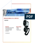 Wm-360 Webcam Omega 8mp