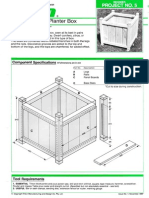 Beginner-Versailles Type Planterbox