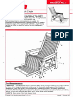 Advanced- Reclining Verandah Chair