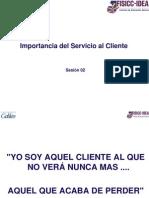 Sesion 02 - Importancia Del Servicio Al Cliente