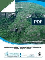 Análisis de vacíos jurídicos y recomendaciones para el desarrollo de iniciativas REDD+ en Colombia