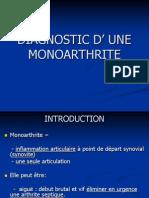 monoarthrite 2012