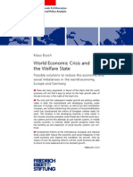 World Economic Crisis and the Welfare State