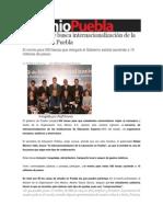 04-02-2014 Sexenio Puebla - Moreno Valle busca internacionalización de la educación en Puebla