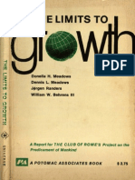 Meadows, D. Meadows, D., Jorgen, R. y Behrens W (Limits to Growth)