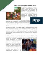 LA VESTIMENTA DEL INDÍGENA GUATEMALTECO