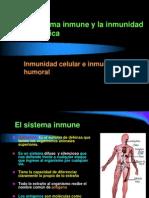 El sistema inmune y la Inmunidad 4ª Medio