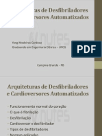 Arquiteturas de Desfibriladores e Cardioversores Automatizados Base