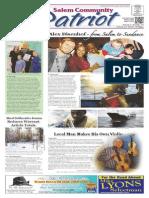 Salem Community Patriot 2-7-2014