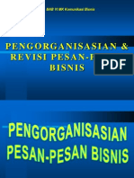 Bab 6 Pengorganisasian Dan Revisi Pesan Bisnis