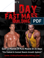 21 Day Muscle - Part 1 - The 21-Day Fast Mass Building Manual